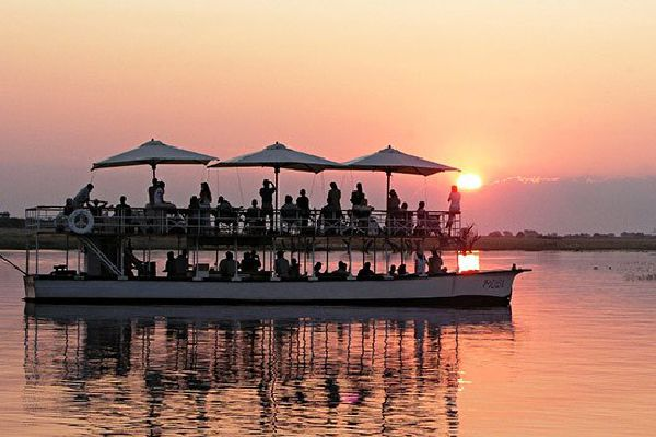 Sunset Cruise on Zambezi