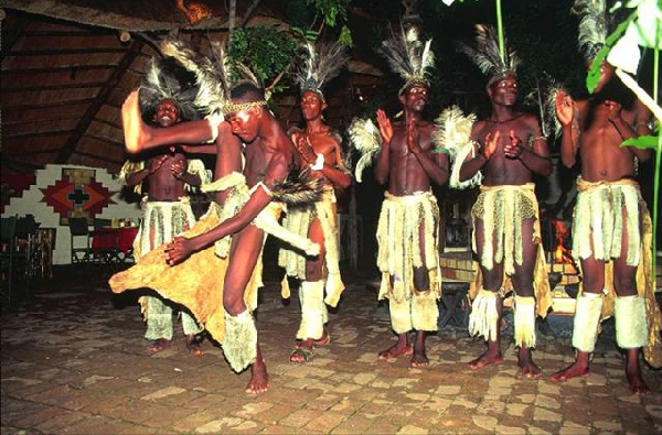 Enjoy African Local Dance